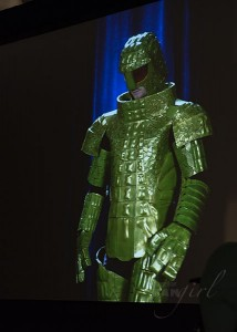 Ice Warrior Doctor Who Wizard World 2015