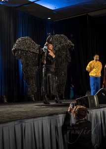 Maleficent Wizard World Costume Contest 2015