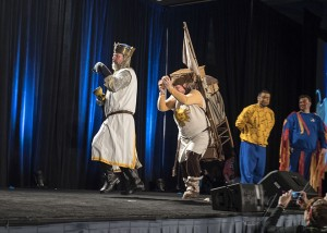 Monty Python Holy Grail Costume Contest at Wizard World 2015
