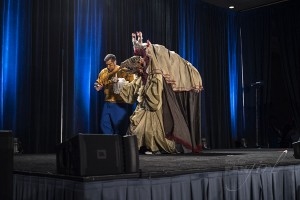 Skeksis at Wizard World Costume Contest 2015