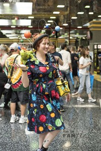Ms Frizzle Cosplay at Wizard World 2015