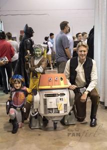 Star Wars Rebels Costumes at Wizard World 2015