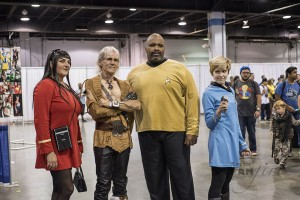 Star Trek Costumes at Wizard World Chicago 2015