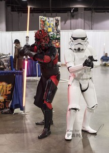 Stormtrooper and Darth Maul Trooper