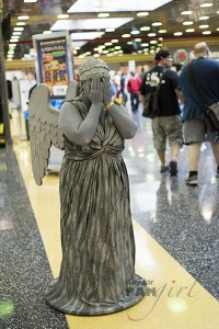 Weeping Angel at Wizard World 2015